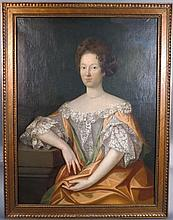 Large Portrait of a Woman, 18th C