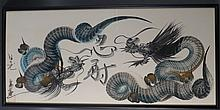 Chinese Painting of Dragons