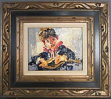 Figural Painting Signed Desmedt