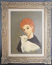 Figural Painting Signed Darnier