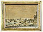 JOHAN FREDRIK MARTIN 1755-1816 Vue de Stockholm,