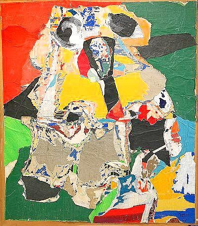 ASGER JORN Denmark 1914-1973 Abstraction fait dun