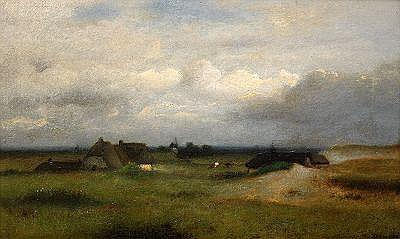 JULES DUPRÉ Frankrike 1811-1889 Franskt landskap
