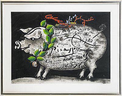 CARL FREDRIK REUTERSWÄRD född 1934 La Tirelire de