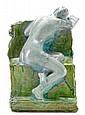 Leopold Bernhard Bernstamm 1859-1939 A seated nude, Leopold Bernhard Bernstamm, Click for value