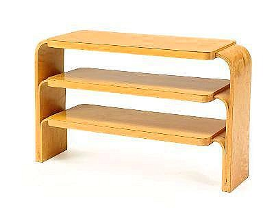 ALVAR AALTO, Nr.111, hylla, bjork, 1940-50-tal,