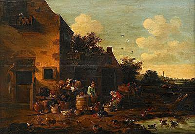 EGBERT VAN DER POEL Holland 1621-1664, tillskriven