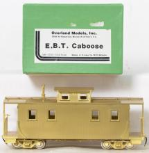 Overland Models modern On3 brass OMI-0036 East Broad Top caboose
