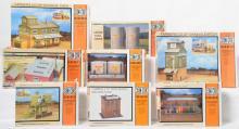 8 Con Cor HO building kits 9067, 9069, 9063, 9059, 9062, 1714, 9066, 9065