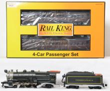 Railking Pennsylvania K-4s with Protosound 2.0 and 4 Madison cars 30-1258-1
