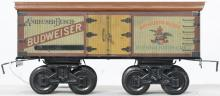 Bing gauge 1 8-wheel Budweiser reefer NICE!!