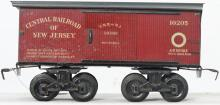 Bing gauge 1 10205 Central Railroad of New Jersey boxcar