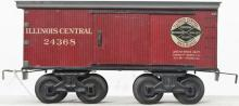 Bing gauge 1 24368 Illinois Central  lithographed boxcar