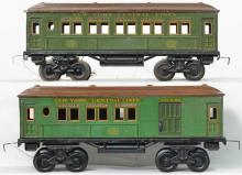 Bing gauge 1 1207 & 1250 New York Central Lines passenger cars