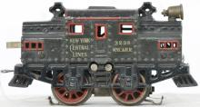 Bing O gauge cast iron 3238 New York Central Lines center cab electric