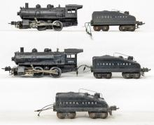 Lionel prewar O gauge 1662 1663 2201T & two 2203T tenders