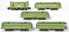 MTH standard gauge Stephen Girard 9E with Protosound and four passenger cars
