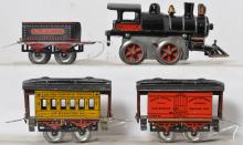 Vintage toys and trains at Stout Auctions