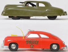 Marx and Saunders plastic friction cars