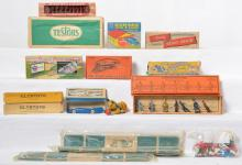 Nice group of mixed boxed toys and train scenery etc
