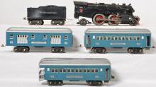Lionel prewar standard gauge 1835E passenger set