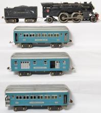 Lionel prewar standard gauge 1835E steam passenger set