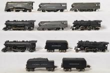 Lionel prewar O gauge steam locomotives and tenders