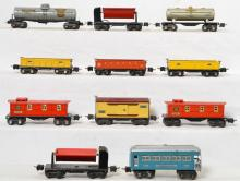 Group of Lionel prewar O gauge rolling stock