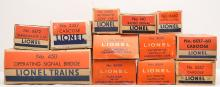 Lionel Postwar Selection of Original Boxes ONLY