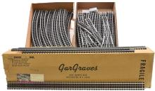 Ross Curtis Gar Graves Selection of O72 Curve and Straight Track Sections