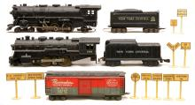 Marx 333 Loco w/NYC Tender 1666 Loco w/NYC Tender Pacemaker Boxcar