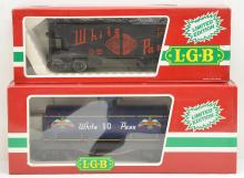 LGB G Gauge Limited Edition White Pass 4076-W02 4080-W01 MINT Boxed