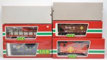 LGB G Gauge Queen Mary Series SF 41760 41780 SF 4076D02 43714 MINT Boxed