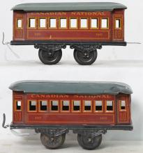 Unmarked Germany Canadian National 1217 passenger cars