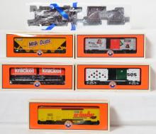 Lionel HersheyÍs Chocolate locomotive and five cars 19364, 15096, 26489