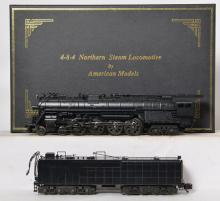 American Models S gauge 4-8-4 Northern Loco with sound and smoke