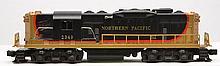 Lionel Postwar 2349 Northern Pacific GP-9 Diesel