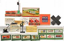 Lionel Postwar 140 153 252X 260 260 310 1020 Boxed Billboards Plasticville Kit