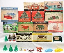 Plasticville USA Bachmann Unlimited Plastics Selection of Kits Boxed