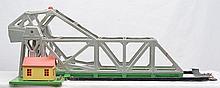 Lionel Prewar O Gauge 313 Bascule Bridge with Silver Bridge