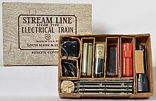 Marx 5840 stream line steam type electrical train set in OB