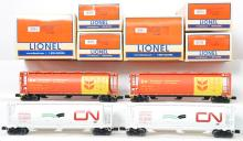 4 Lionel Canadian grain hopper packs 11866 11867
