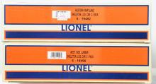 Lionel Western Maryland and West Side Skeleton three packs