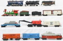 Group of Lionel Postwar and Marx O gauge rolling stock