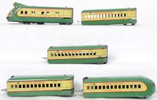 Marx Union Pacific M-10000 tin lithographed articulated set