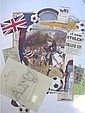 Pair of limited edition rpints English Soccer &