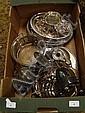 Box silver plate