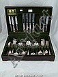 Arthur Price silver plate eight-place canteen of