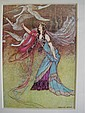 Pair of Warwick Goble prints  &  three others