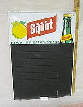 Squirt Chalkboard sign